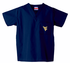West Virginia University 1-Pocket Top